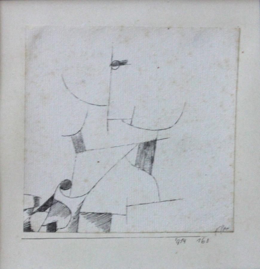 "KLEE, ""Komposition No. 160"""