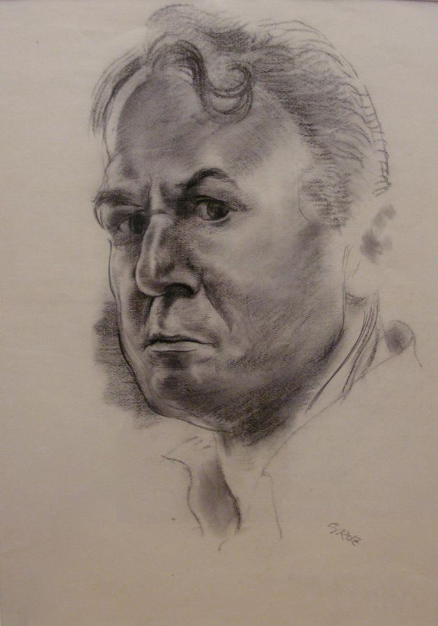 "GROSZ, ""Self-Portrait"""