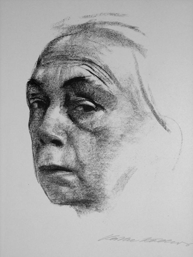 "Kollwitz, ""Selbst Portrait"" 1924"