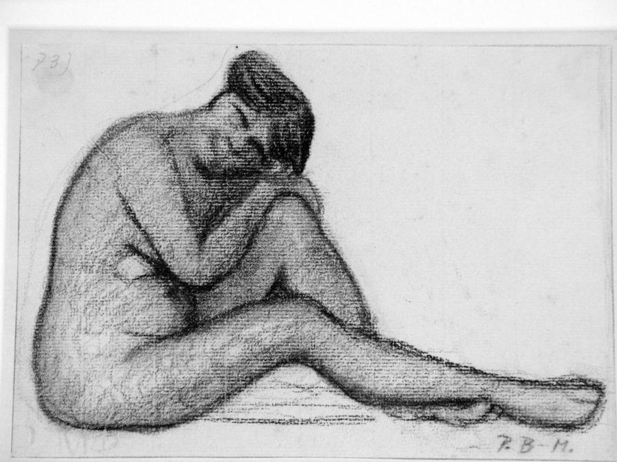 """MODERSOHN-BECKER, """"Sitting Nude"""""""