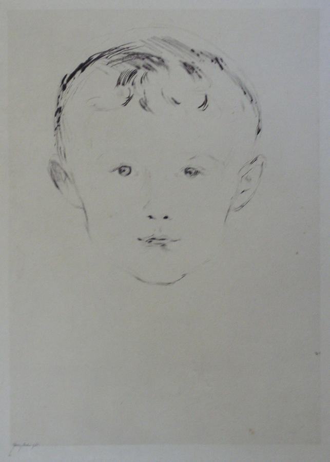 "MUNCH, ""Portrait of a Boy"""