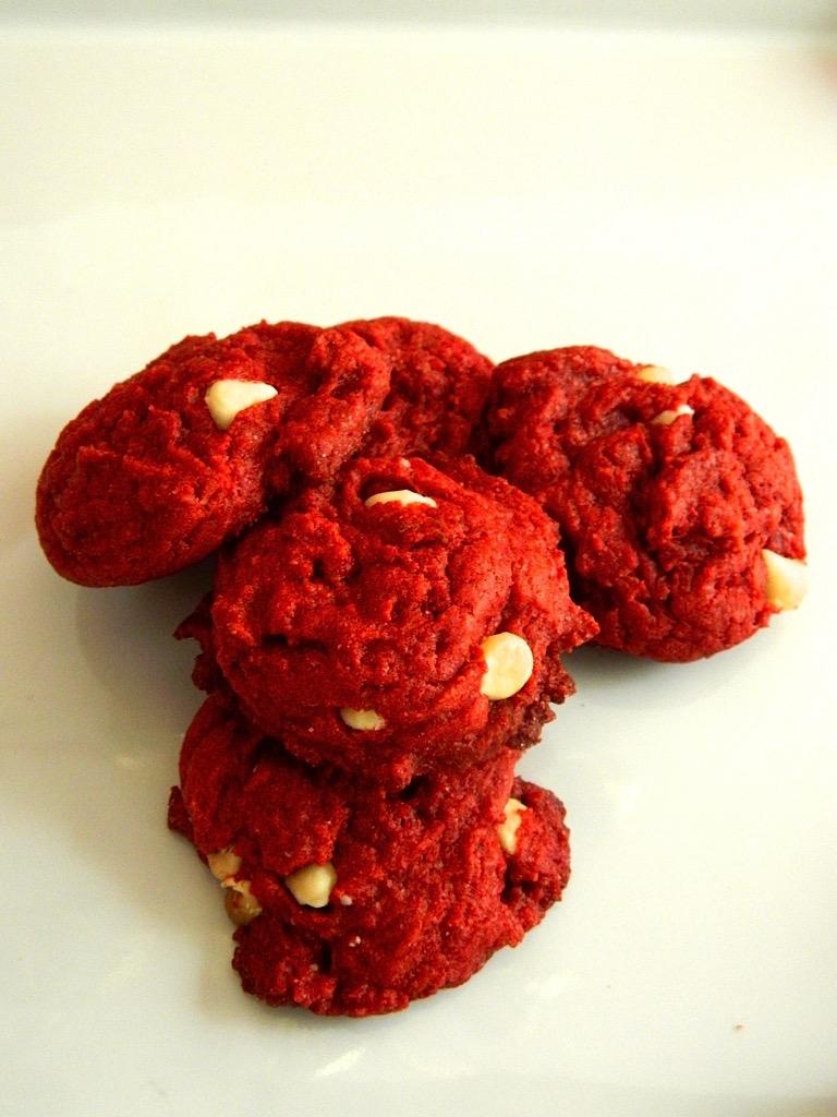 Red Velvet White Chocolate Chip