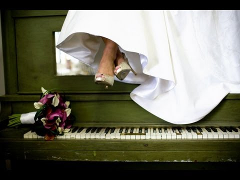 Bride on Piano