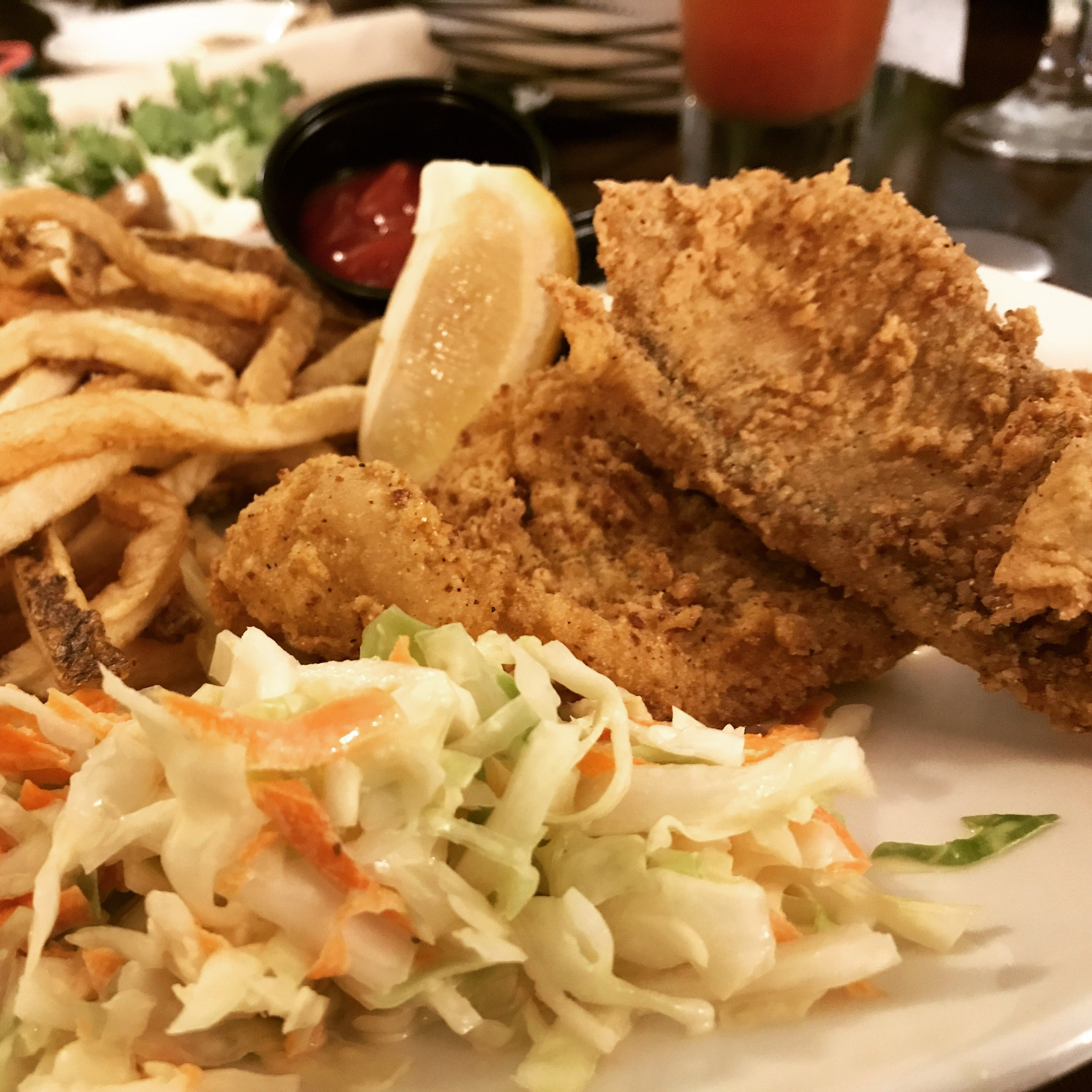 Friday Night Flounder at the Inn On the Square .JPG