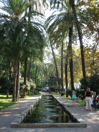 Malaga's beautiful Parque