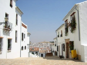 Antequera Old Town street