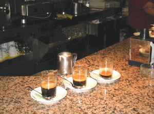 Andalucian coffees
