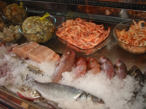 Andalucia fresh fish counter