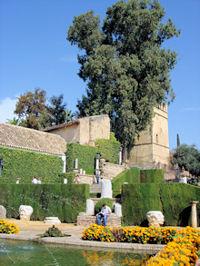 Alcazar Gardens, Cordoba, Andalucia