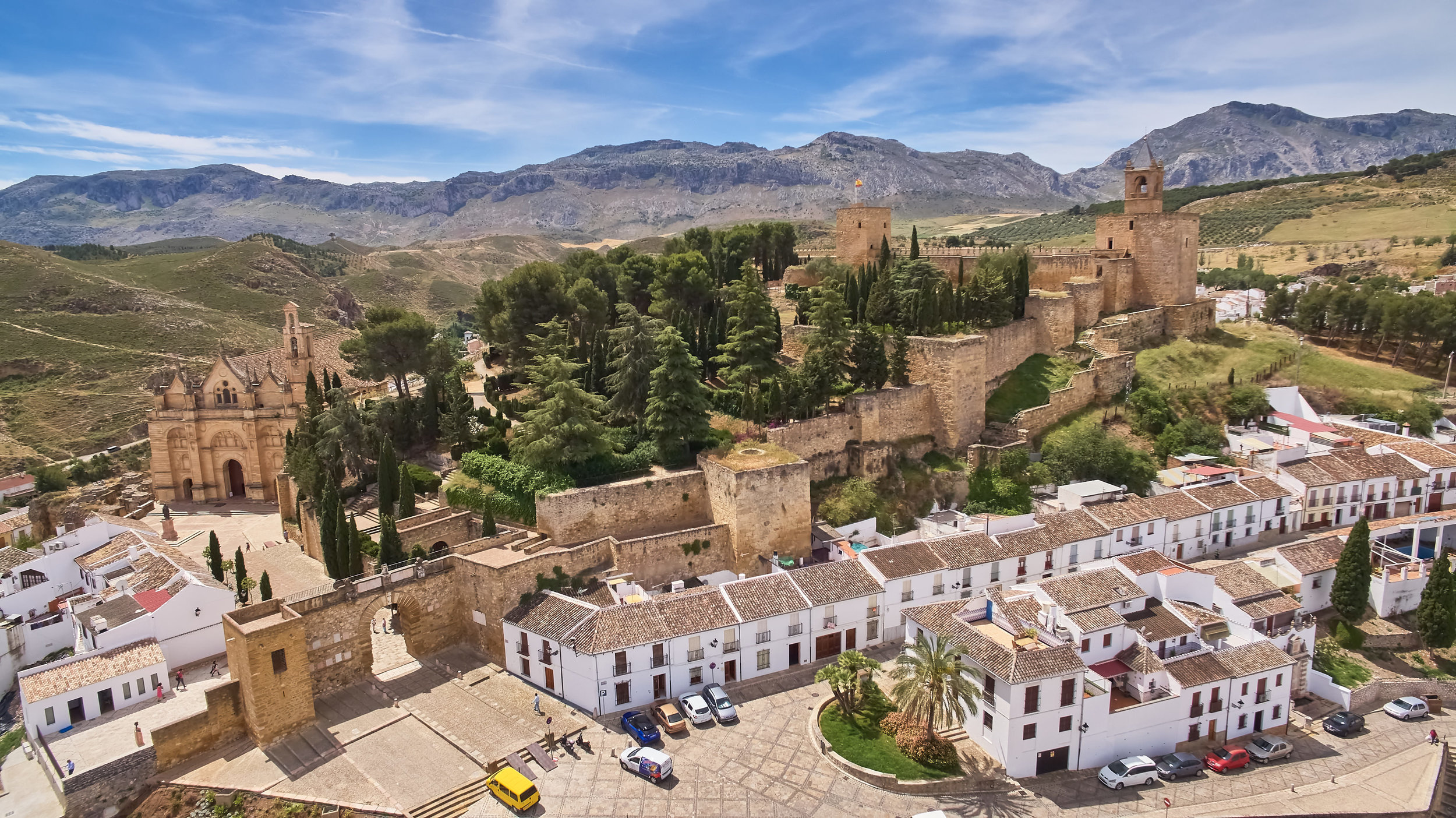 Part of Antequera's Old Town