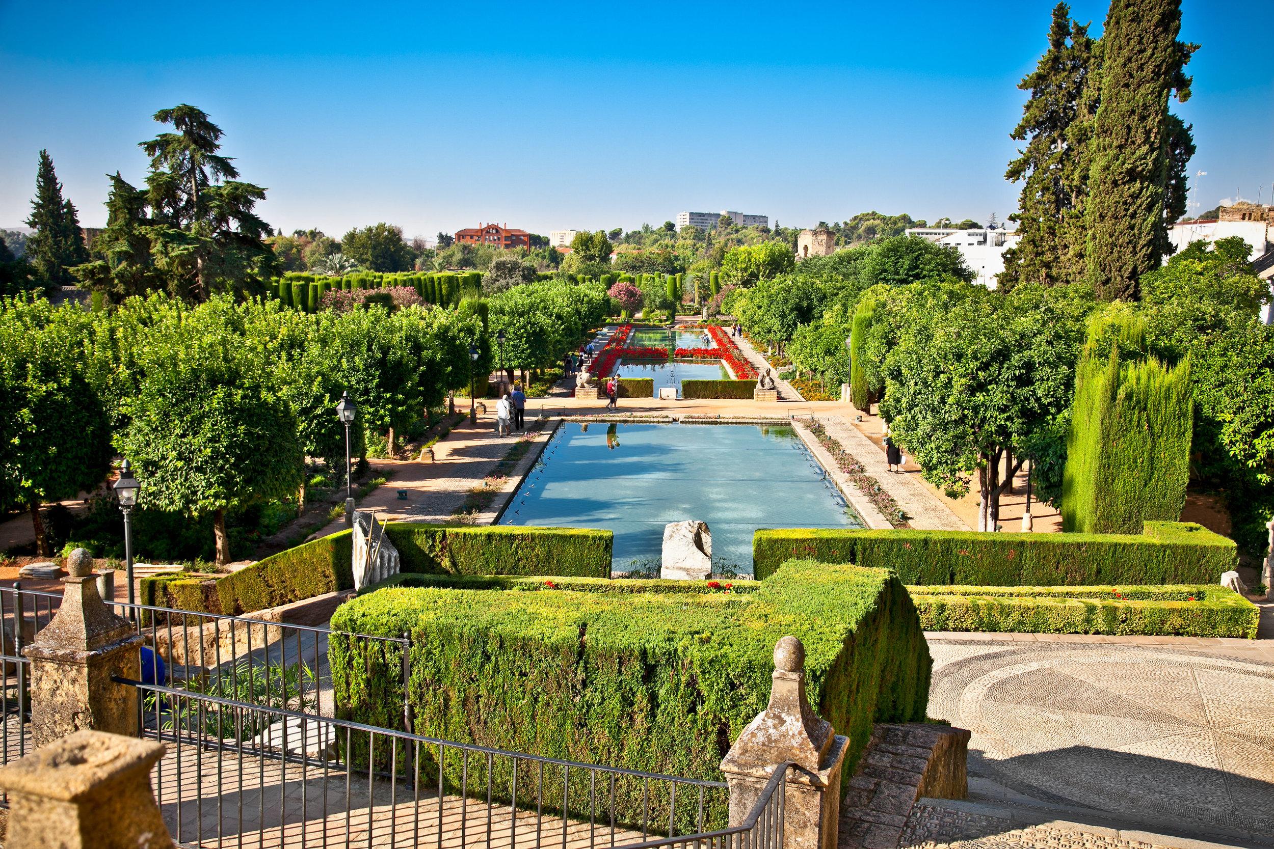 Gardens of the Alcazar, Cordoba