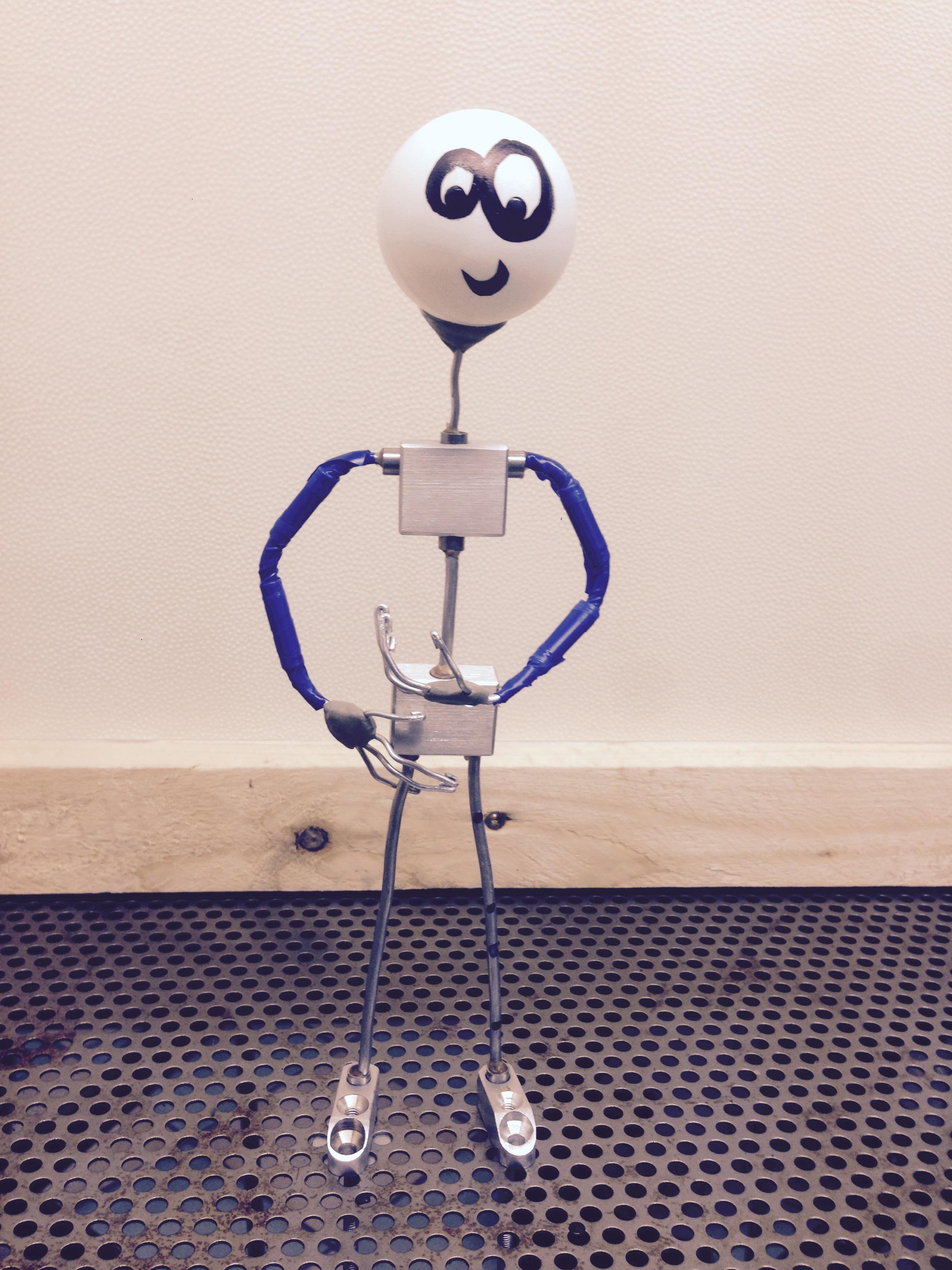 Puppe mit Animationsdraht