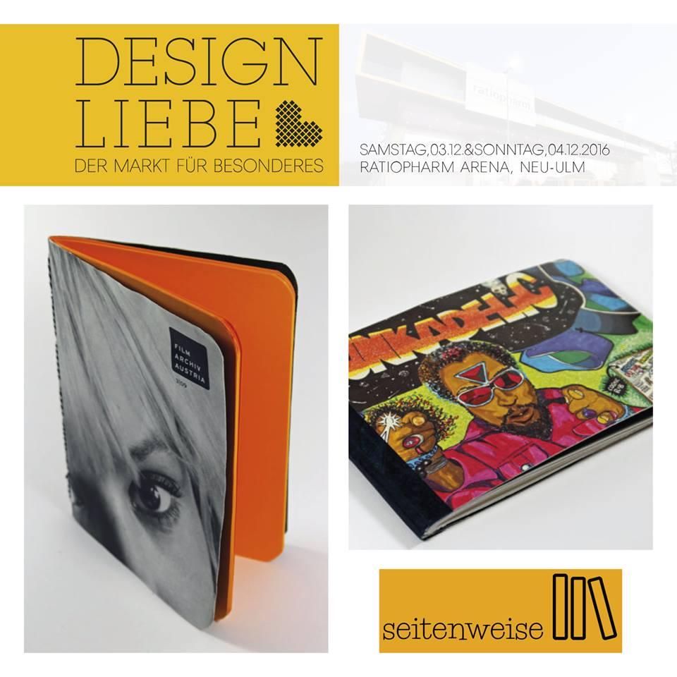 Seitenweise Design Liebe
