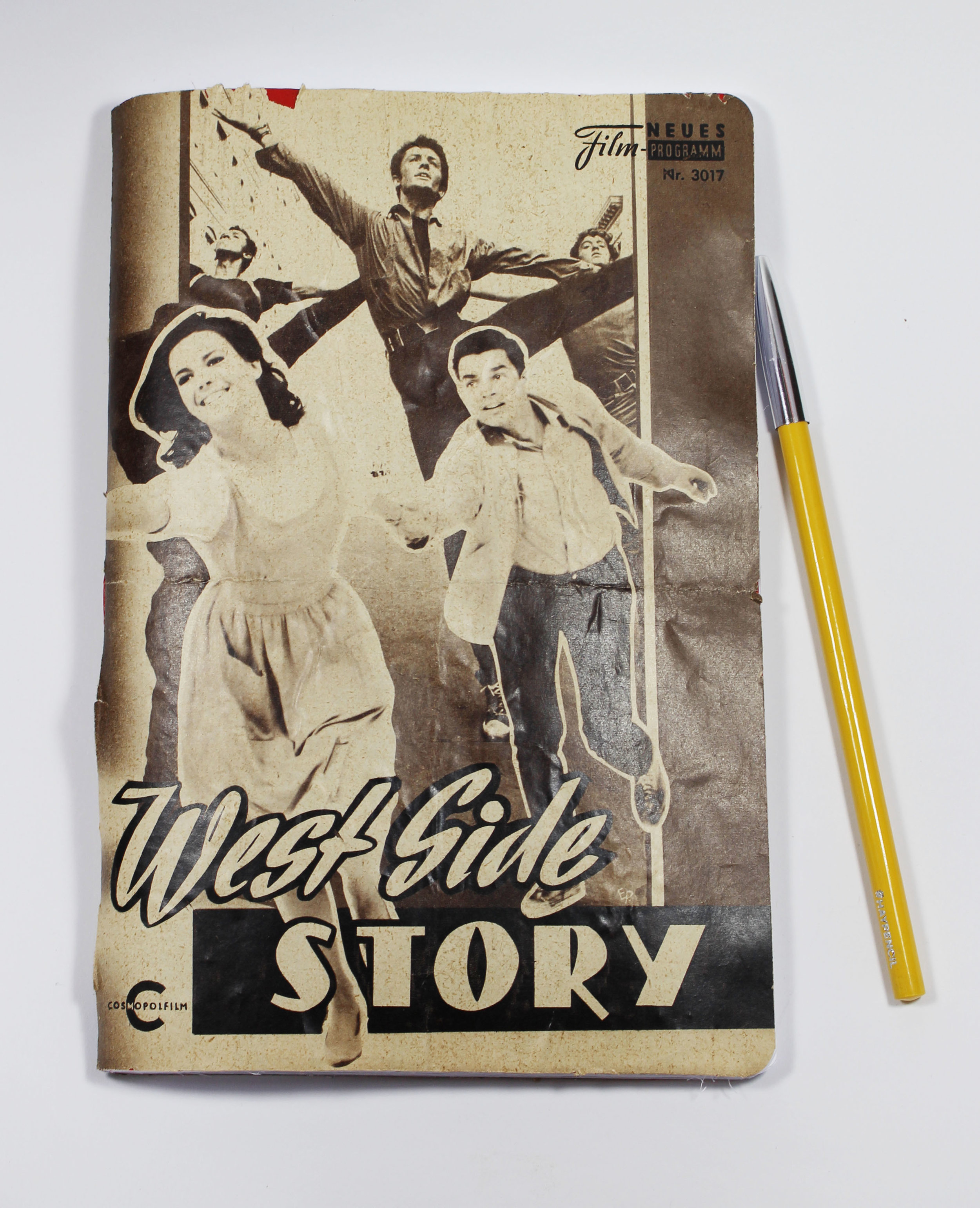 vintage movie journal West Side Story 1.JPG