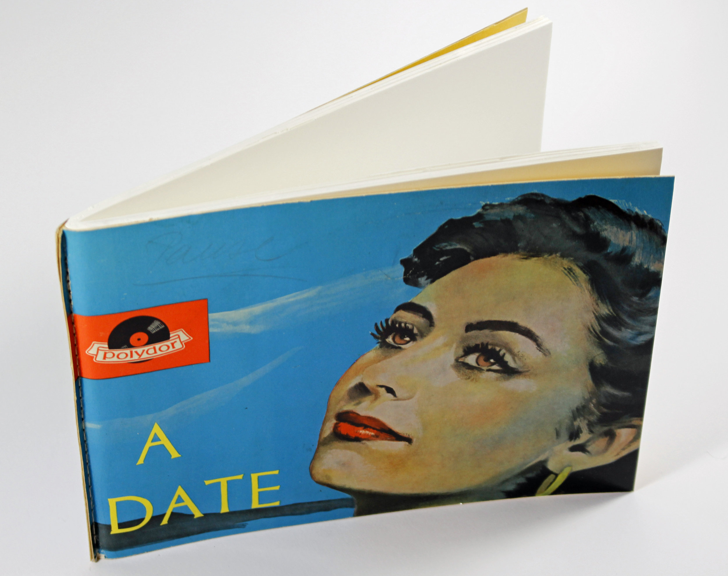 Schallplatten als Buchcover