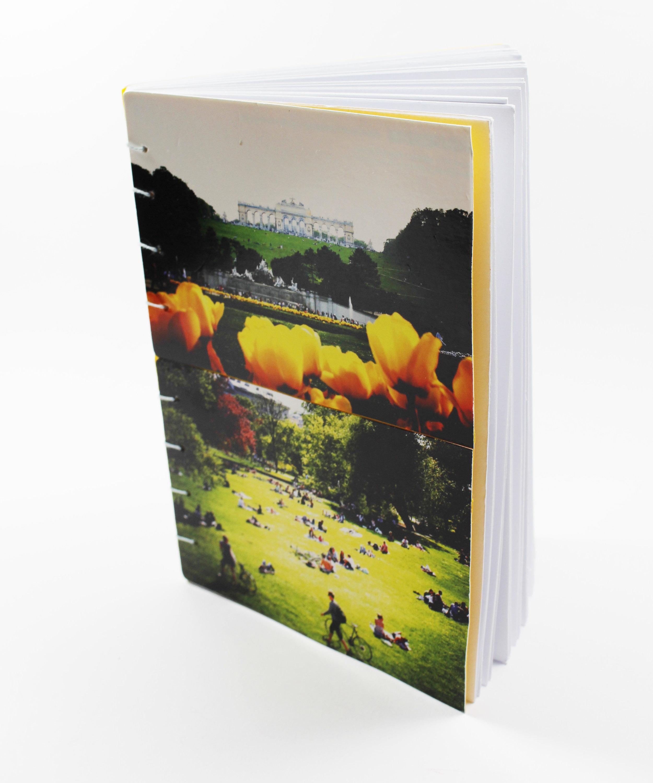 Postkarten als Buchcover