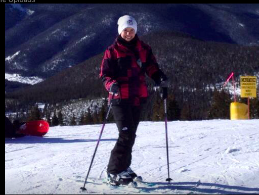 enjoying a beautiful day skiing in Vail, colorado