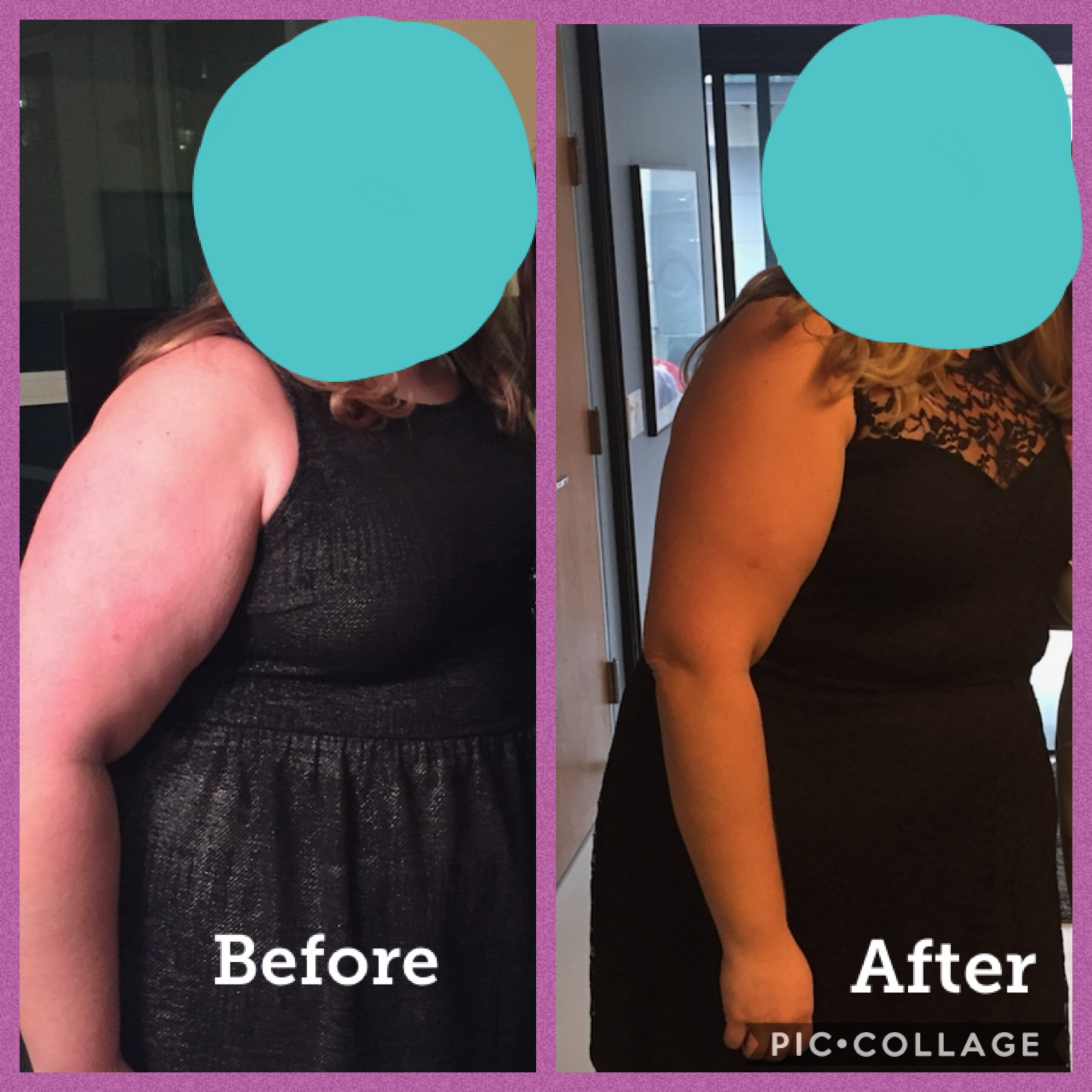 it's amazing to see the transformation of this client! We are still working together, and i'm excited to see how amazing she looks and feels at the end of the year!