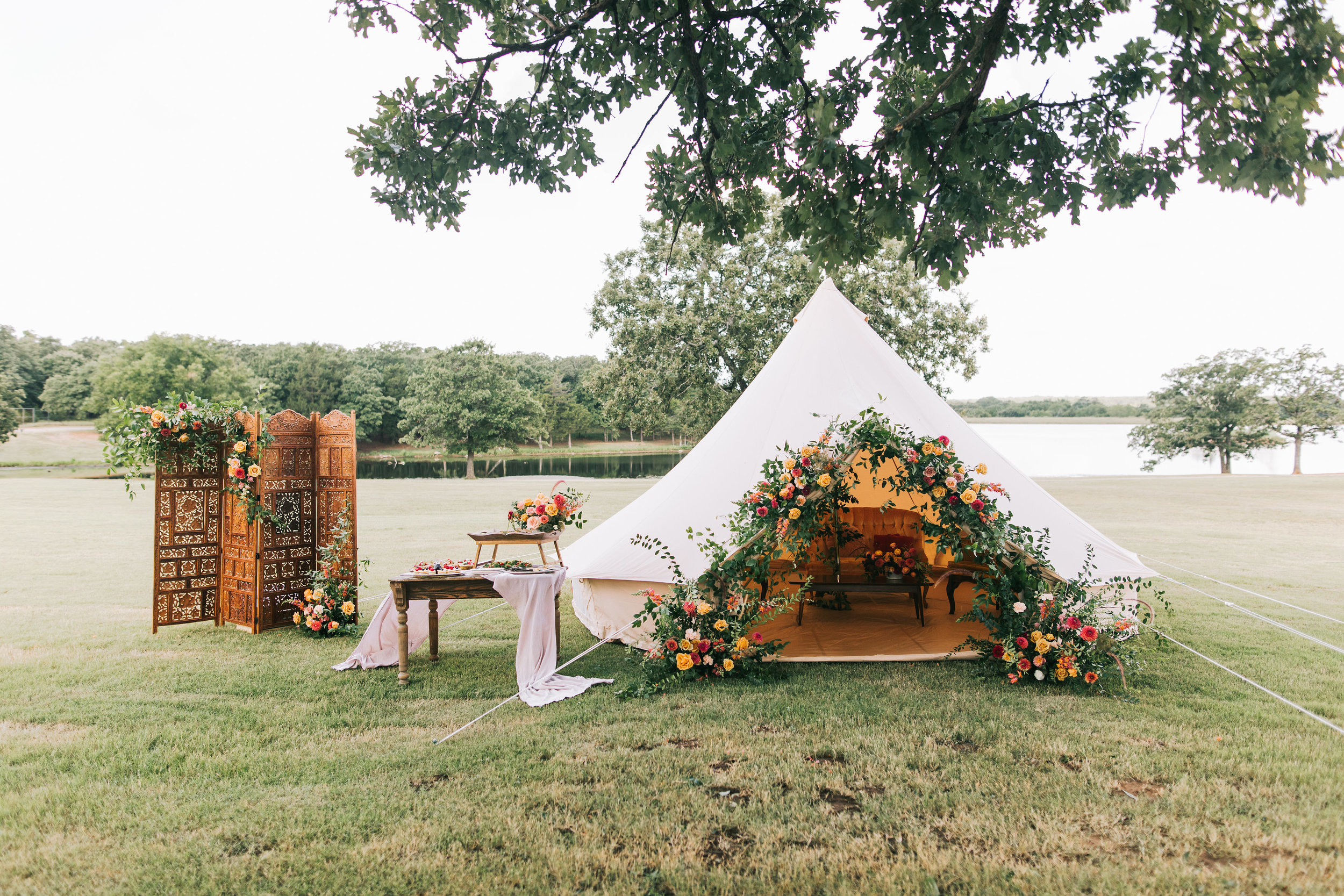 It's wedding season - 5 ways to weave tents into your wedding