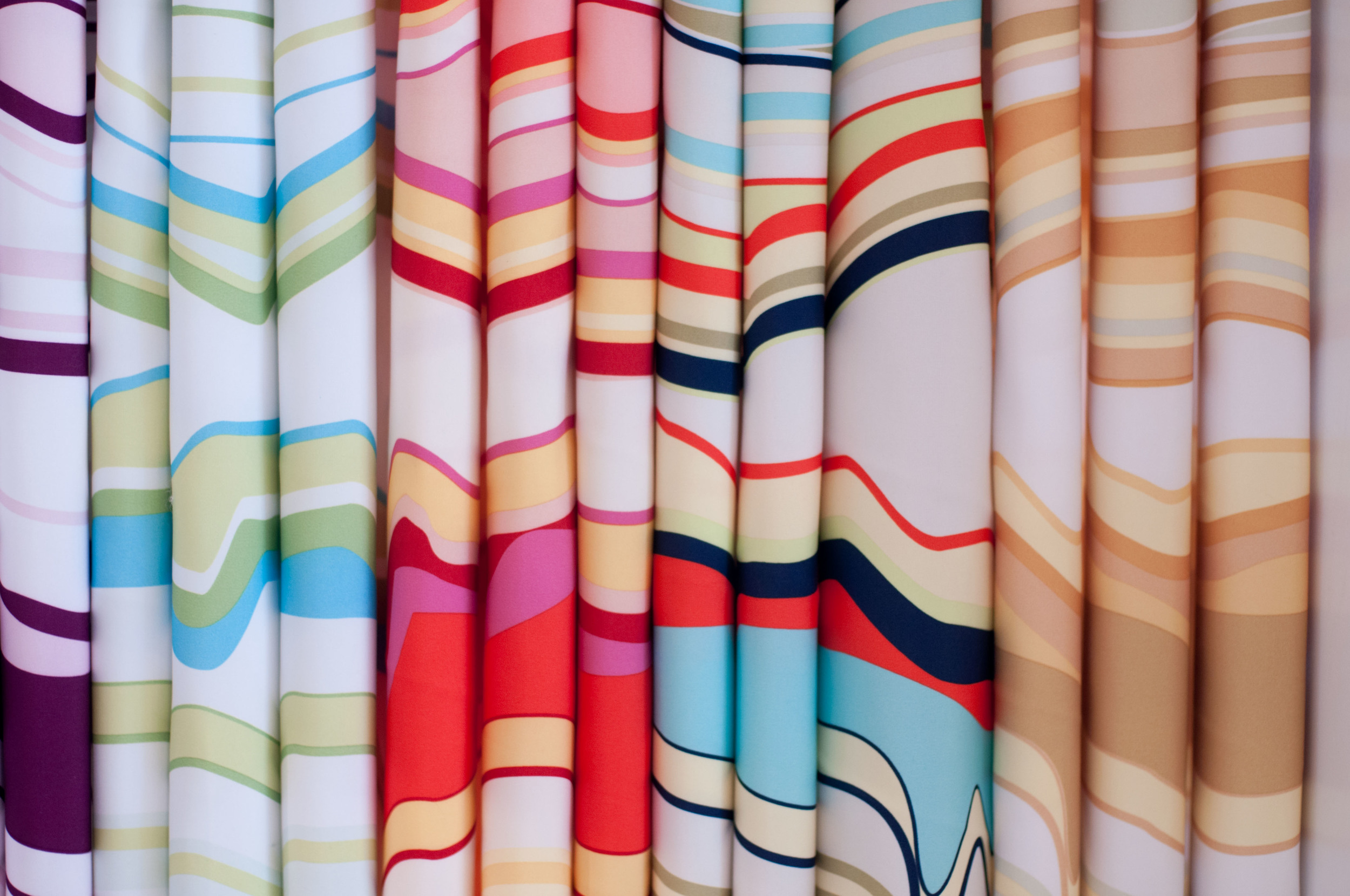 Pantone Springs stripe shower curtain.JPG