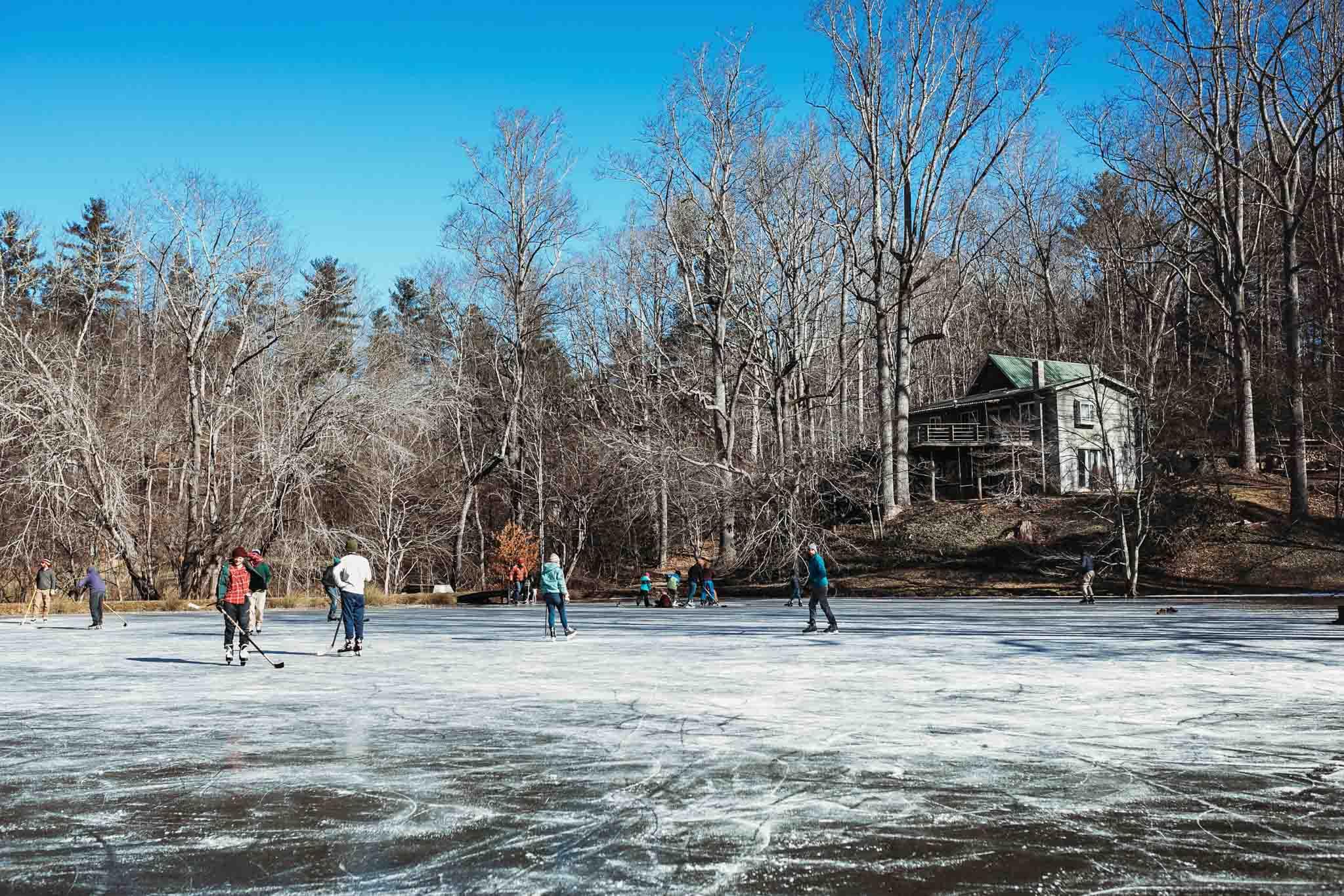 Hockey Game. Fairview, NC