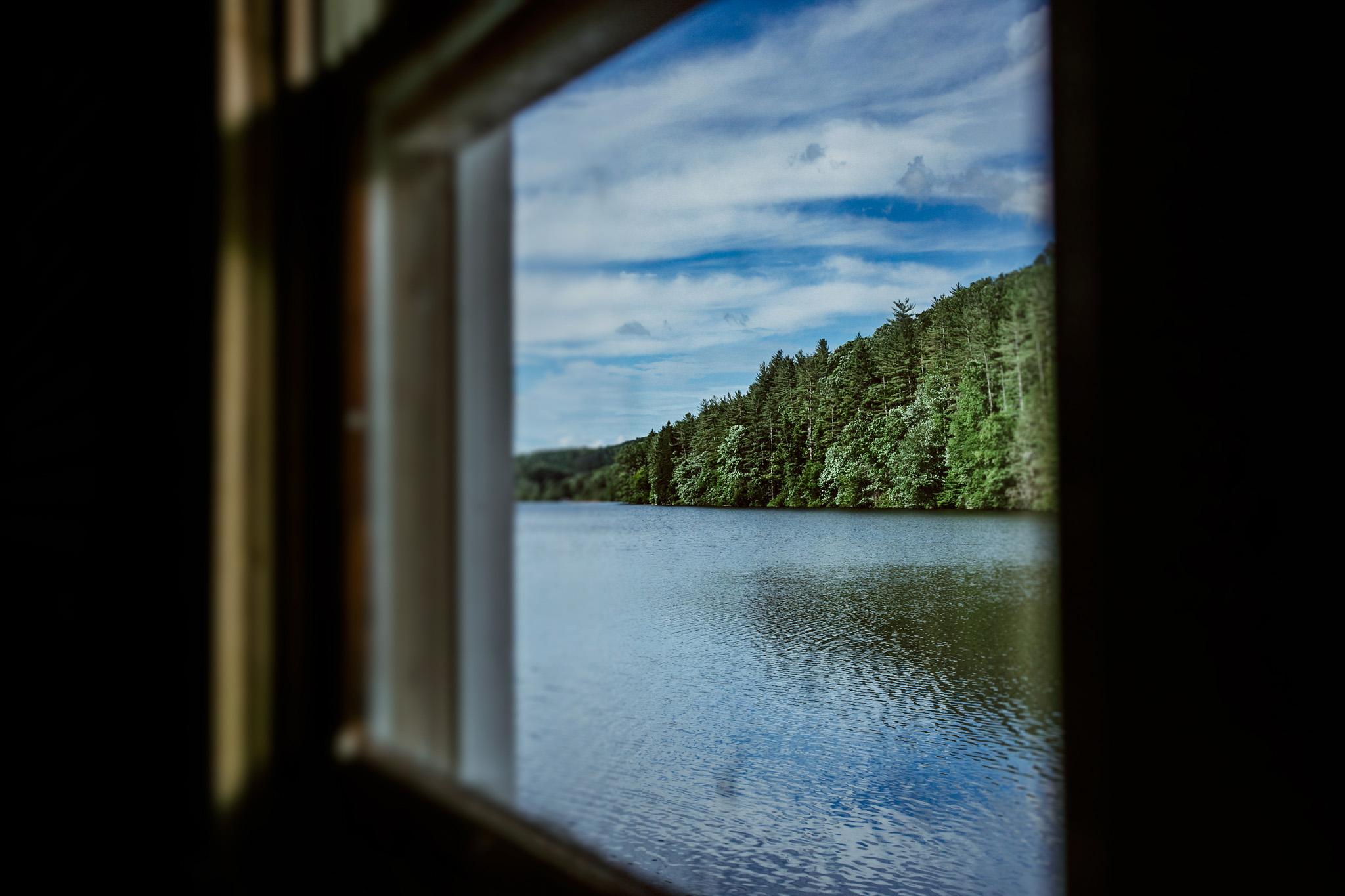 Boat House. Lake Logan, NC