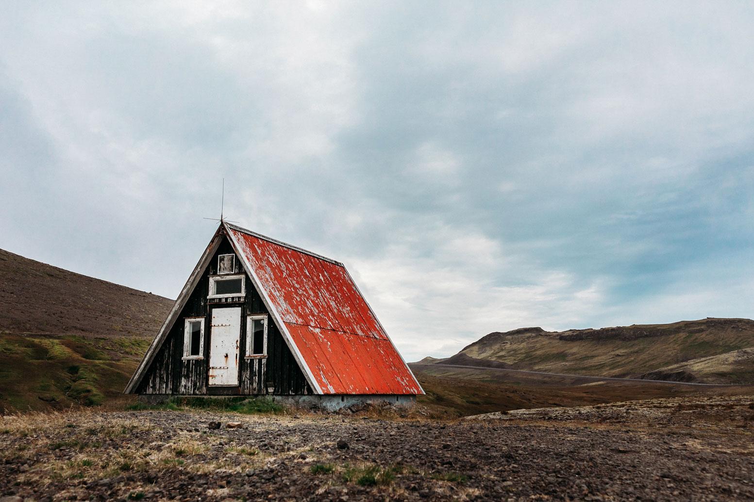 Abandoned in Iceland. Snæfellsnes Peninsula, Iceland