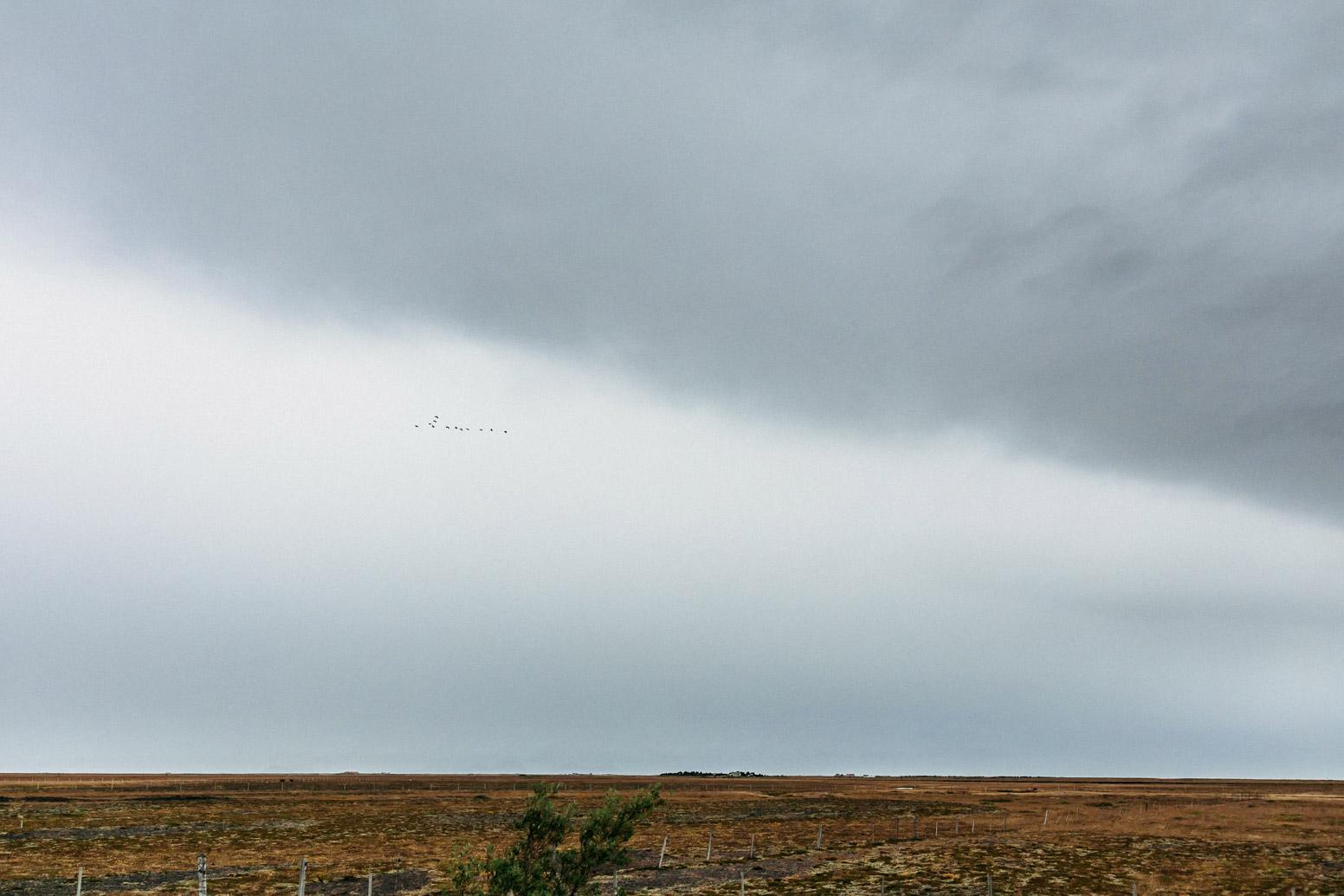 Drive to Skogafoss, Iceland