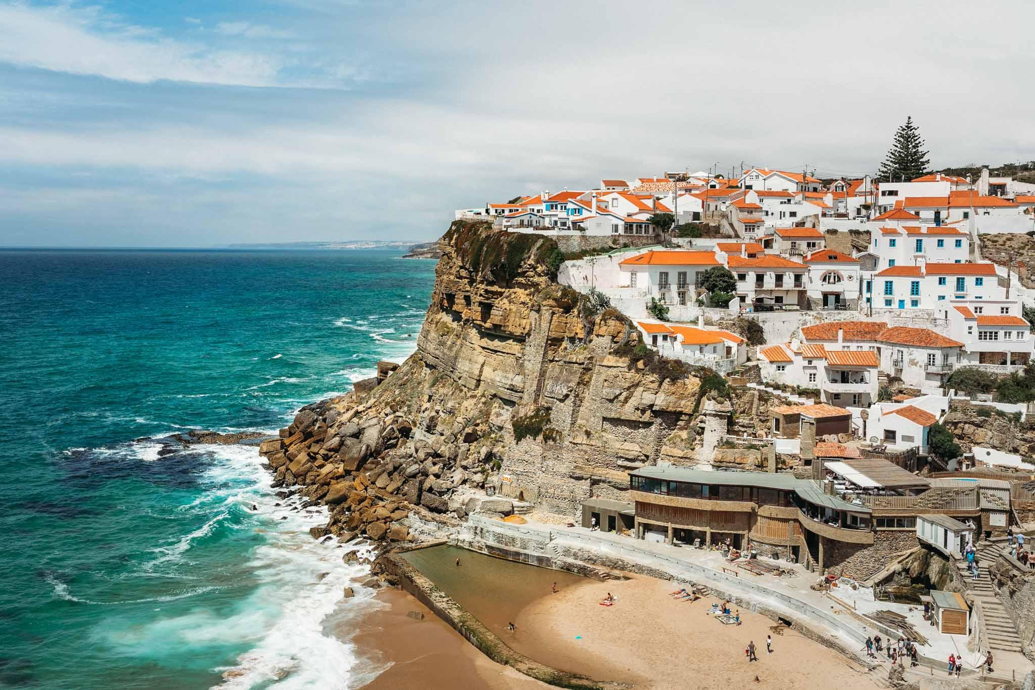 Praia Grande, Sintra, Portugal