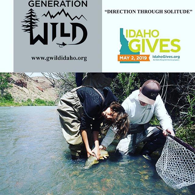 For Idaho gives tomorrow on May 2nd we will be donating ten percent of our total sales for the day to generation wild ! Come help us support a great local cause for the youth of Idaho !
