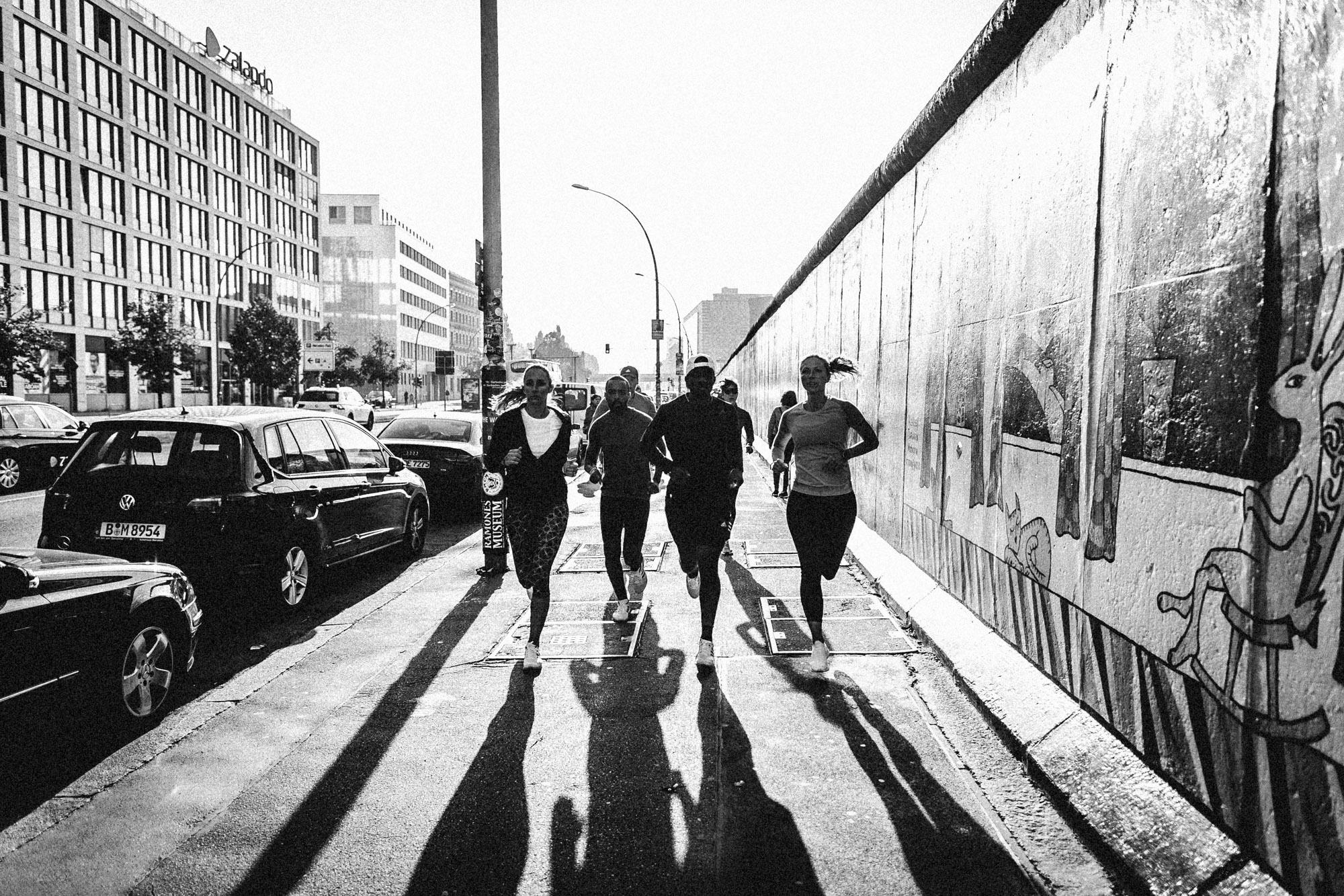 adidas running berlin wall