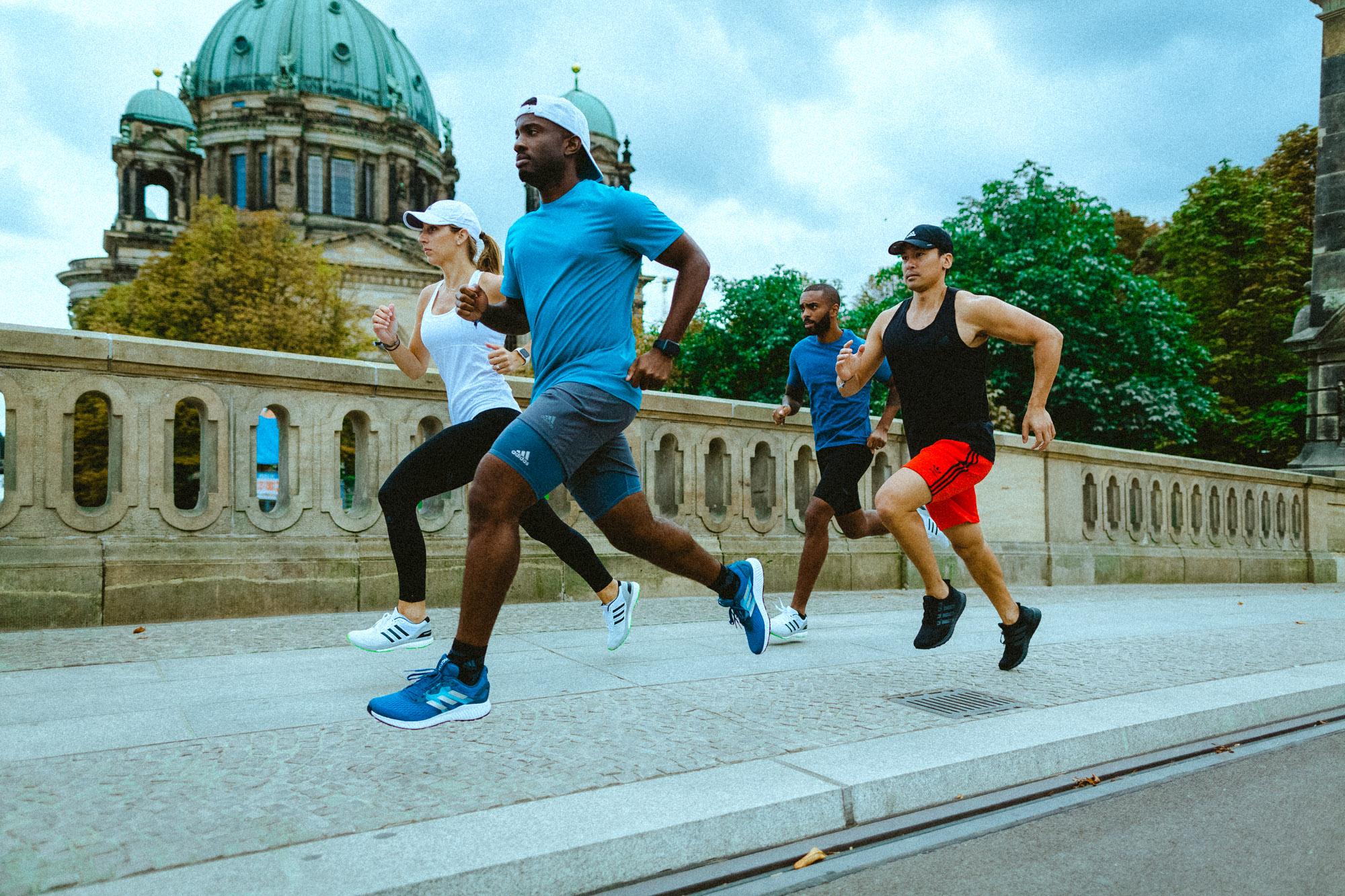 adidas running berlin kwasi kessie stephen cheuk adam francique