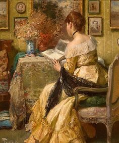 Painting by Fernand Toussaint