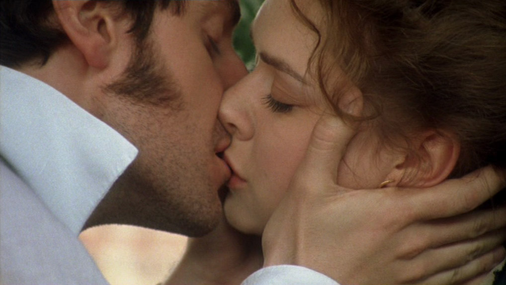 The film world's most romantic kiss.