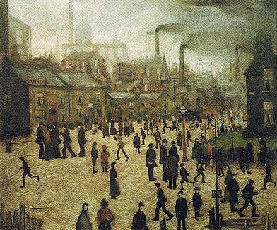 A Manufacturing Town  (1922) - L.S. Lowry