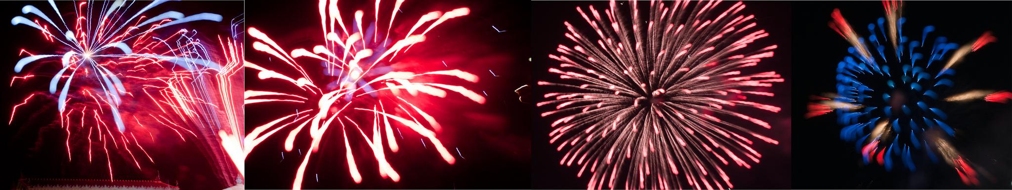 Defocussing Fireworks