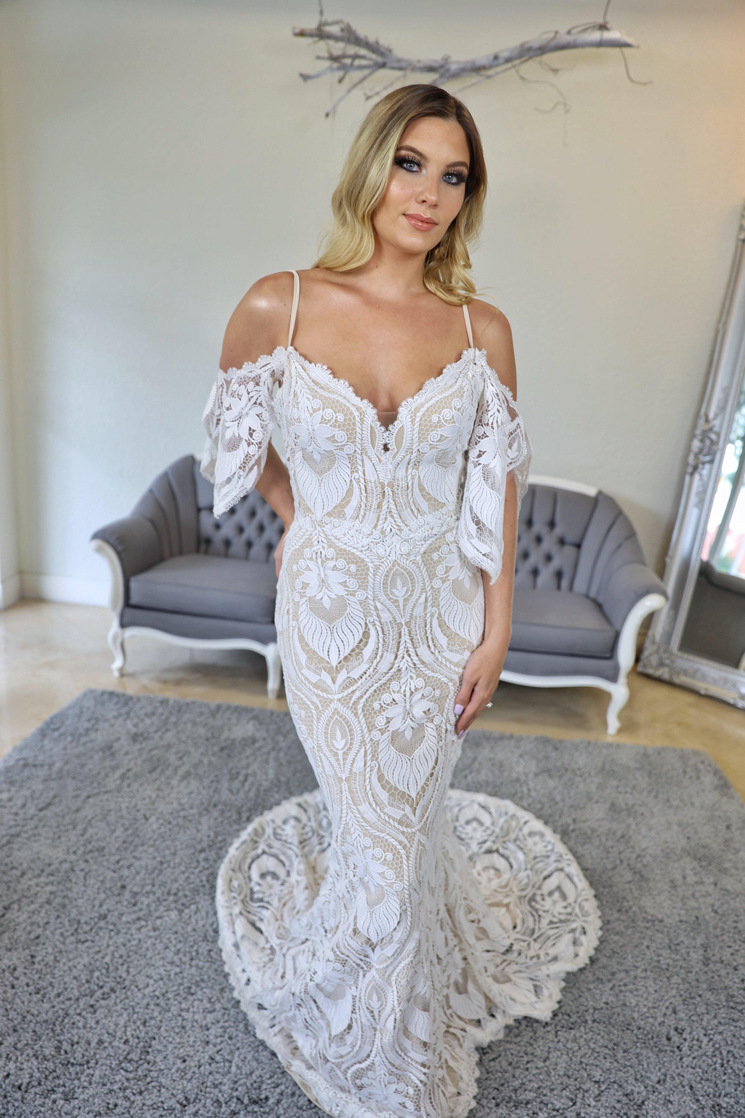 a classic boho dress