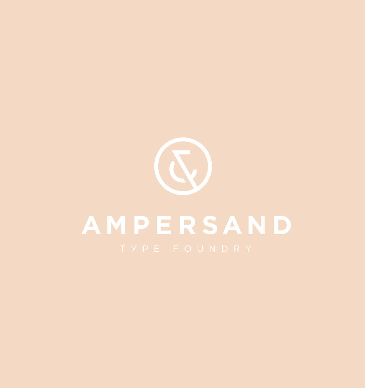 Ampersand Type Foundry  Branding - 2013