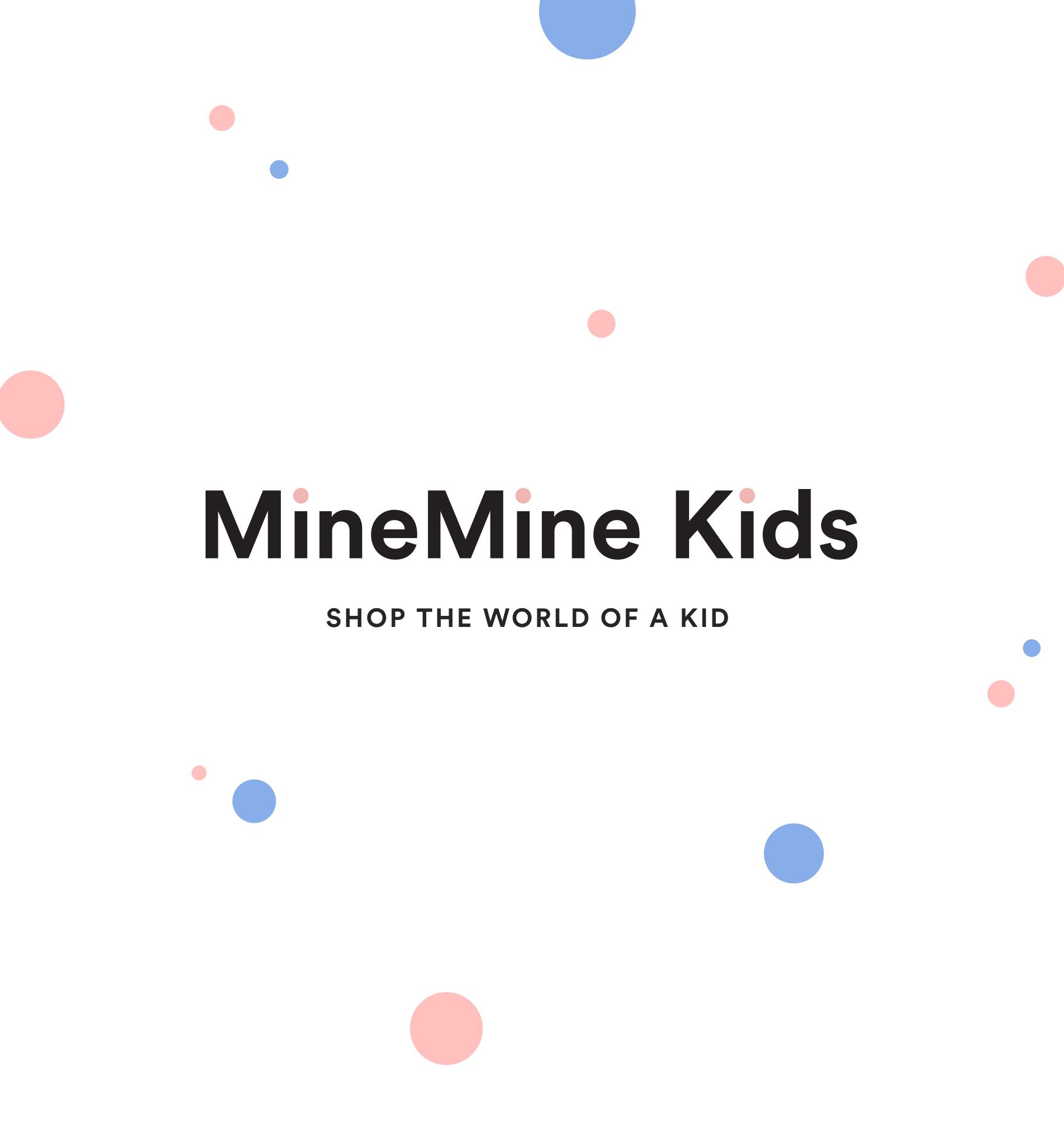 MineMine Kids Online Shop  Branding / UI/UX - 2016