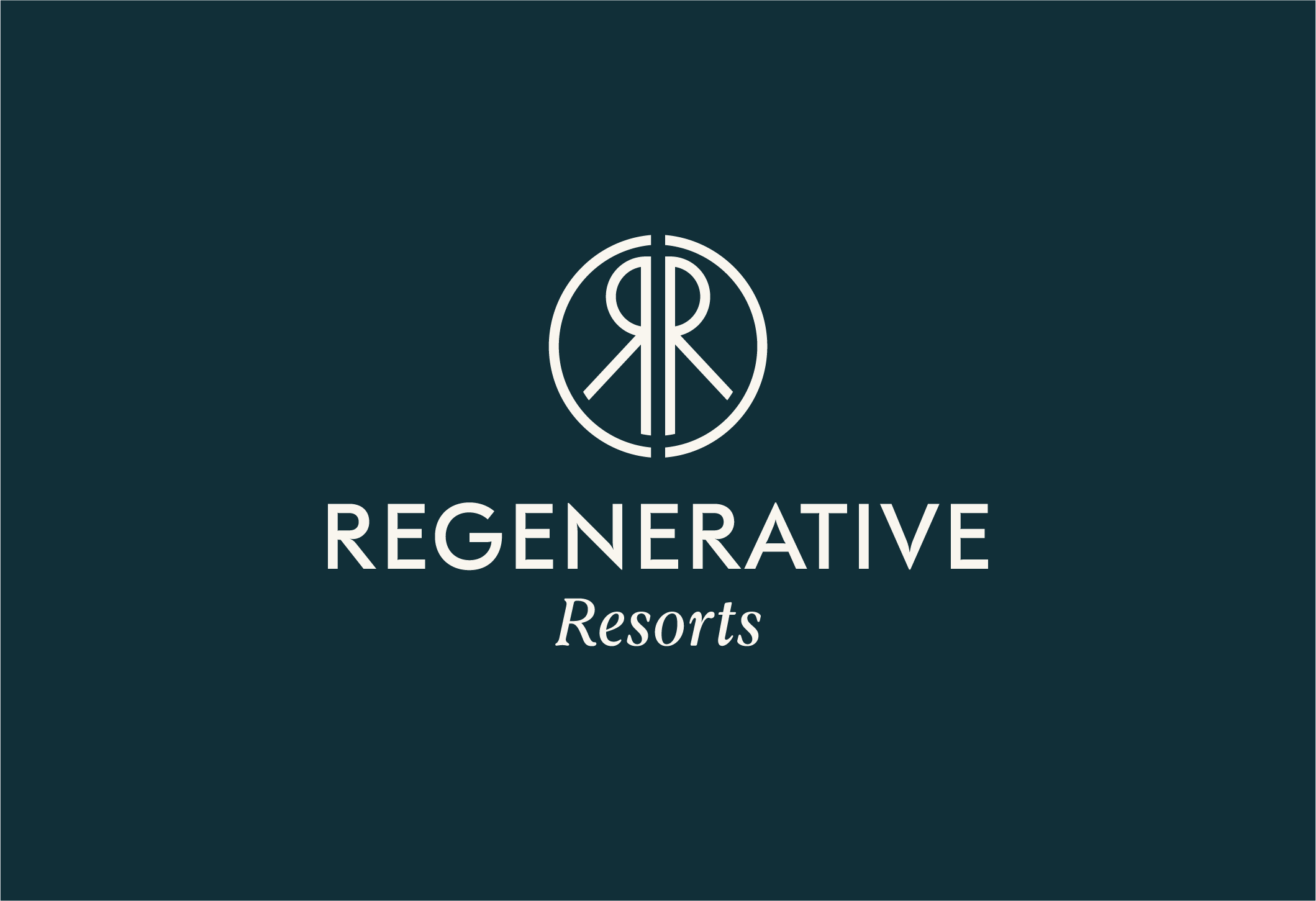 Regenerative Resorts Branding - 2019