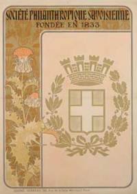 Societe Philanthropique, France,  ca. 1898,