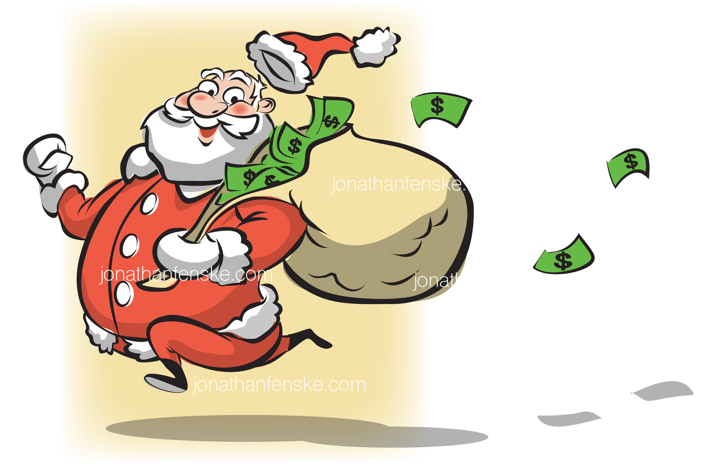 Jonathan-Fenske-Denver-Santa-illustration