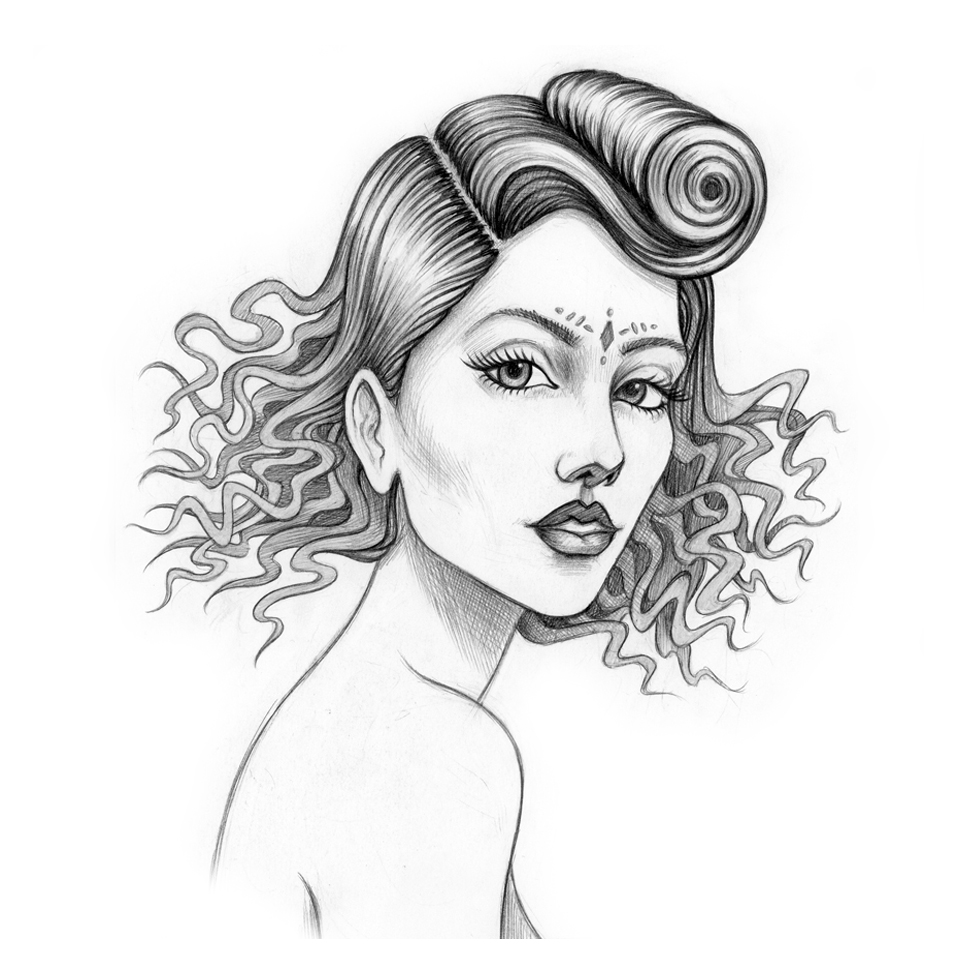 Artemis (Drawing)