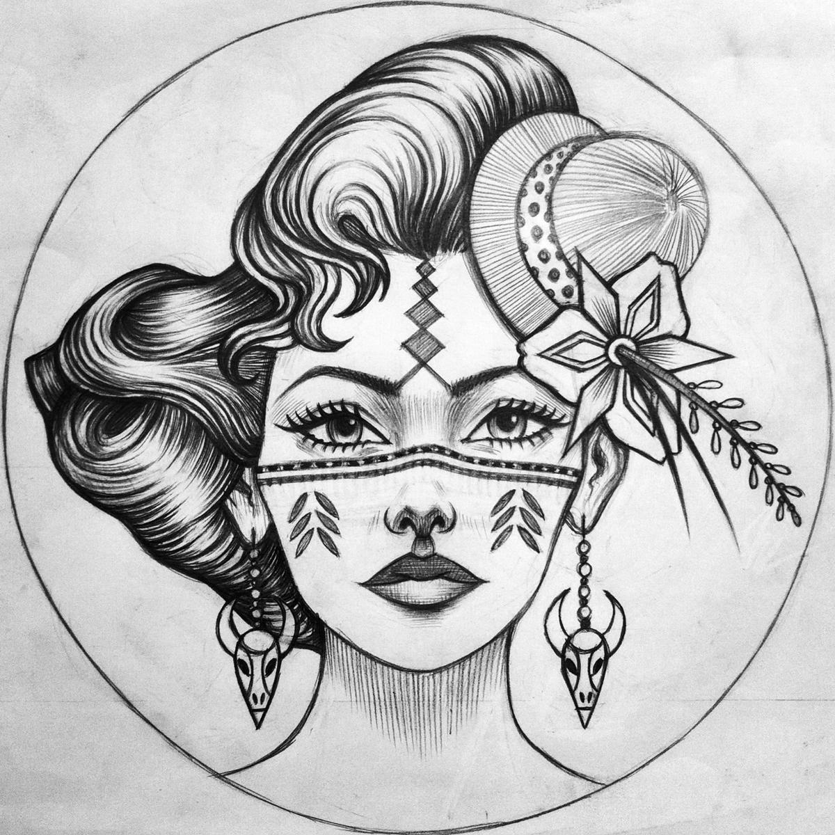 Juniper (Drawing)