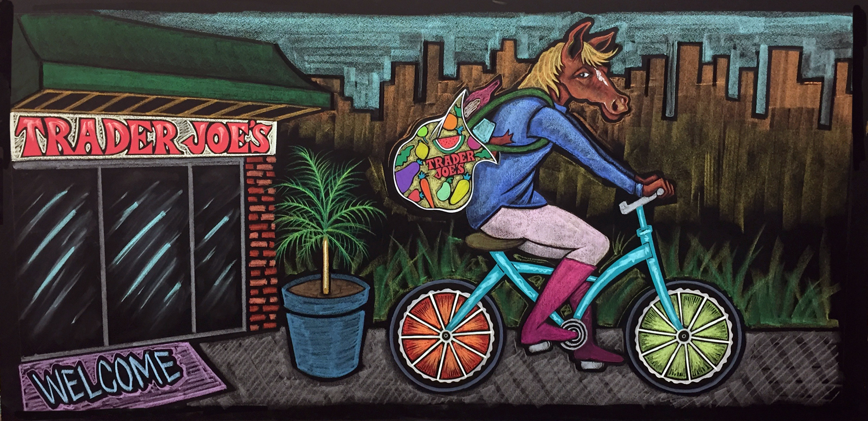 Horse Cyclist