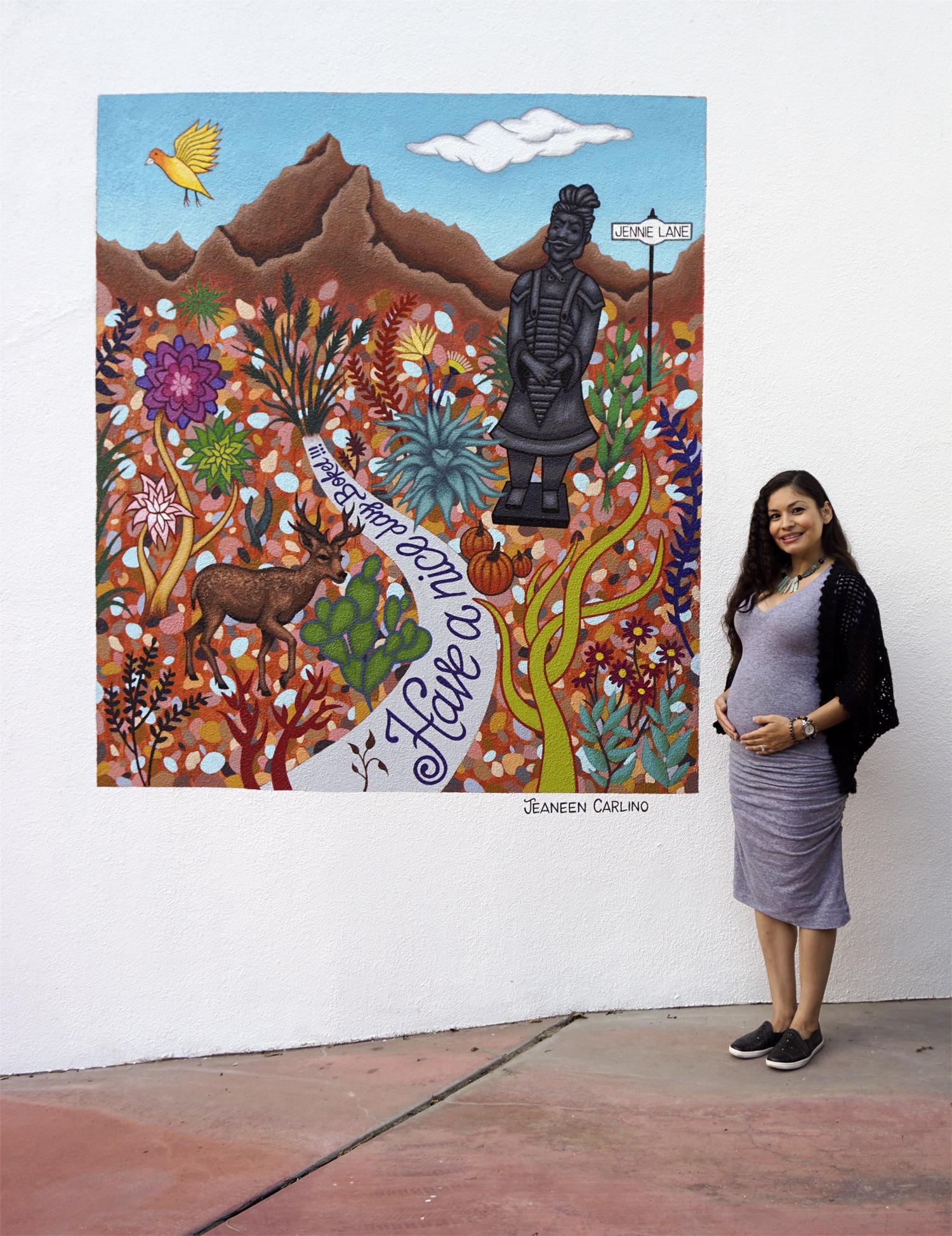 2017-Jeaneen Carlino-Mural Art-Painting-Garden of Laurel Canyon-2.jpg
