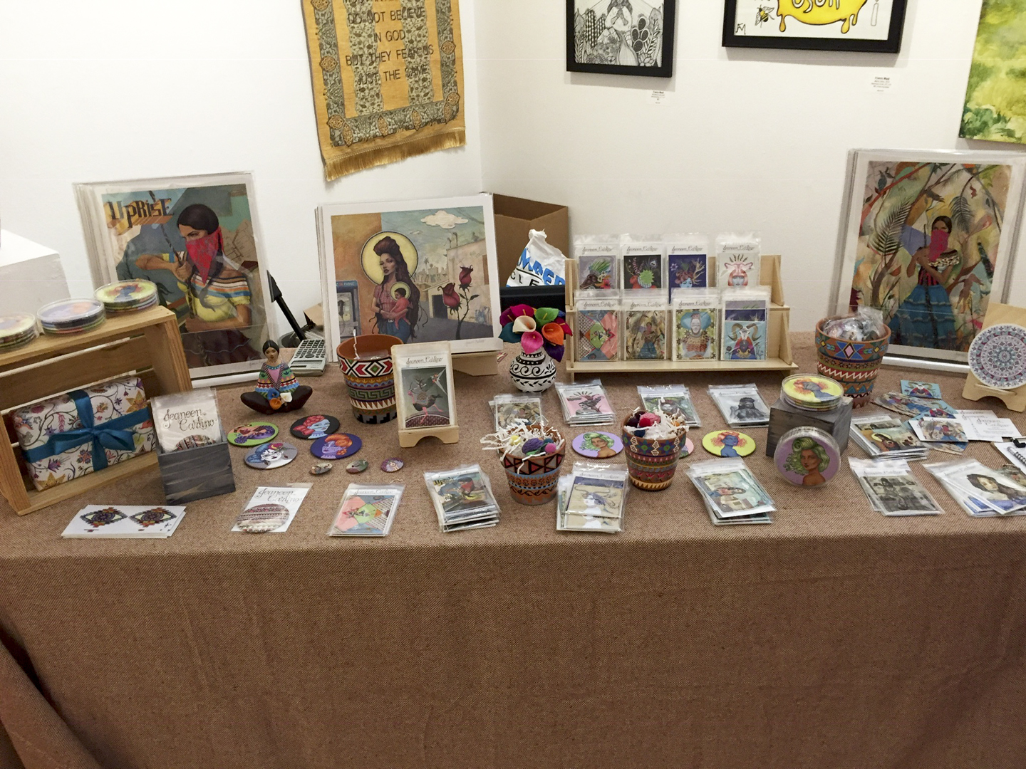 My Online Shop Launch at SPARC in LA - Venice, CA