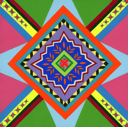 2010-Jeaneen Carlino-Surface Patterns-Painting-Kaleidoscope Brain-small.jpg