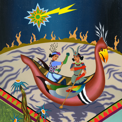 2011-Jeaneen Carlino-Tribal Narratives-Painting-Traversing the Stratosphere-SQ.jpg