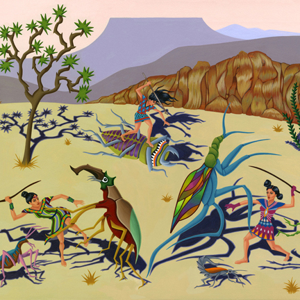 2012-Jeaneen Carlino-Tribal Narratives-Invasion of Narf-SQ.jpg